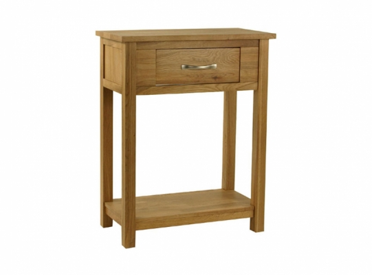 Orlando Oak Small Console Table