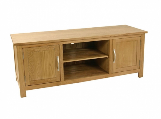Orlando Oak Plasma TV Unit