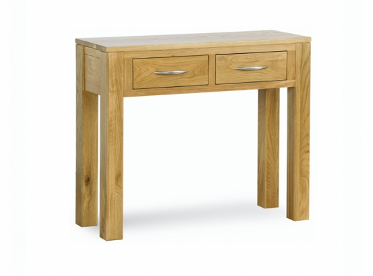 Oxford Oak Console Table with Drawers