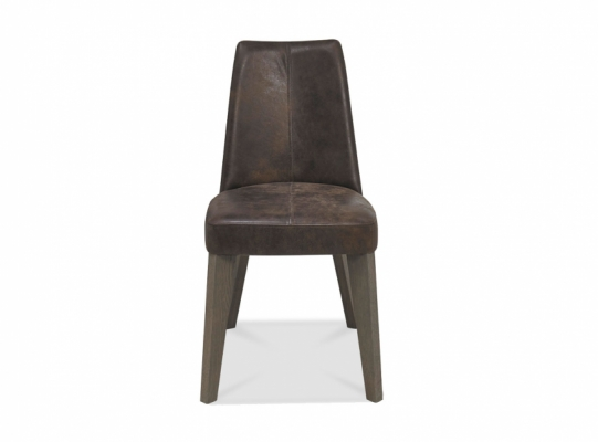 Cadiz Brown Bonded Leather Chair
