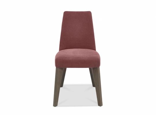 Cadiz Mulberry Fabric Chair