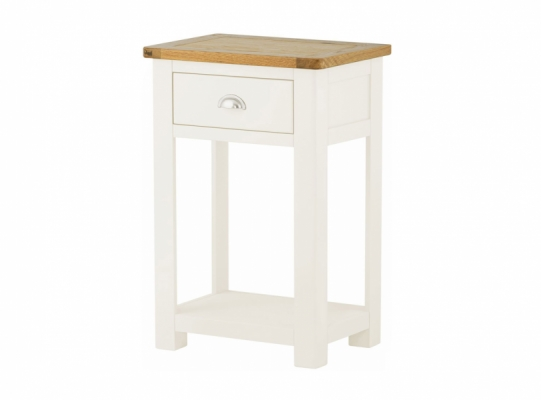 Suffolk White Small Console Table