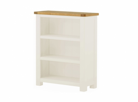 Suffolk White Small Bookcase