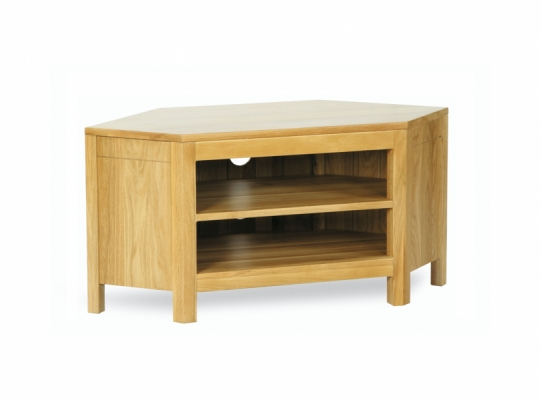 Oxford Oak TV Corner Unit
