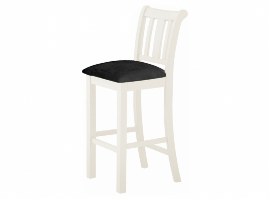 Suffolk White Bar Stool