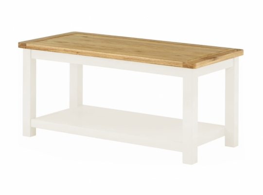 Suffolk White Coffee Table
