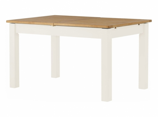 Suffolk White Ext. Dining Table
