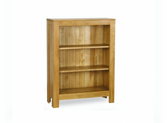 Oxford Oak Wide Bookcase