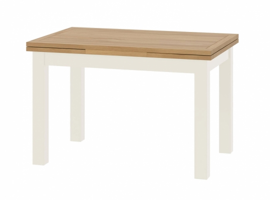 Suffolk White Drawer Leaf Dining Table
