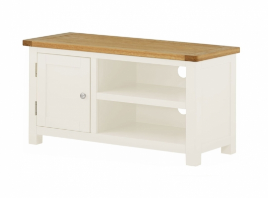 Suffolk White TV Cabinet