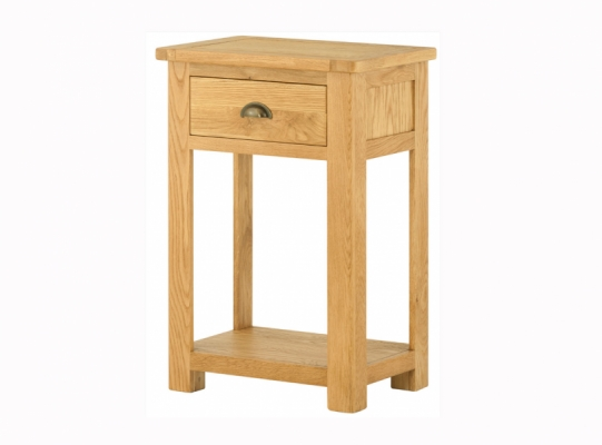 Suffolk Oak Small Console Table