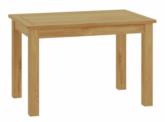 Suffolk Oak Fixed Dining Table