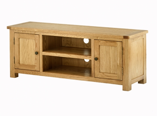 Suffolk Oak Large TV Cabinet