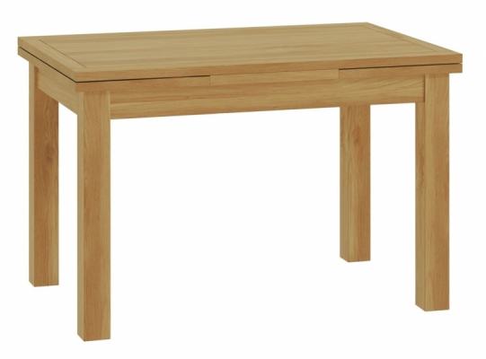 Suffolk Oak Drawer Leaf Dining Table