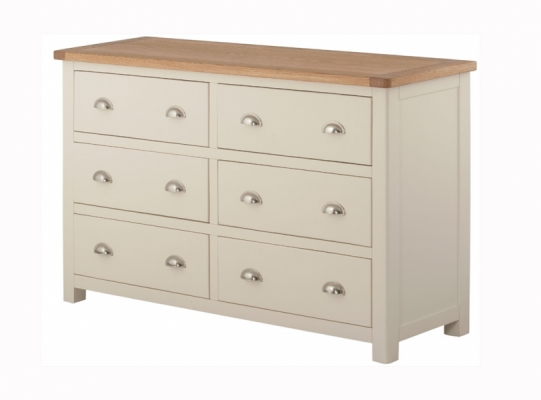 Suffolk Cream 6 Drawer Chest