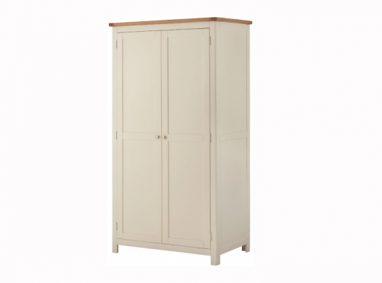 Suffolk Cream 2 Door Wardrobe