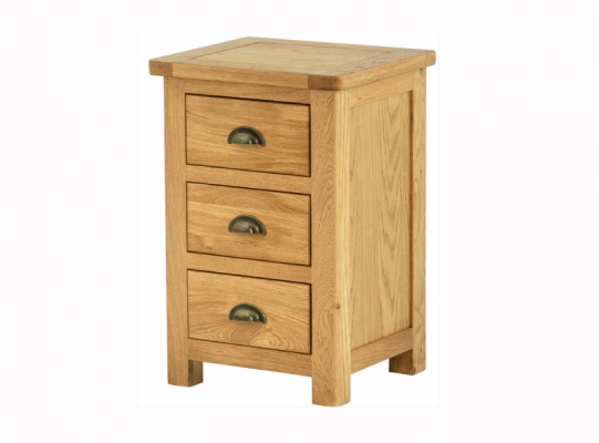 Suffolk Oak Bedside Cabinet