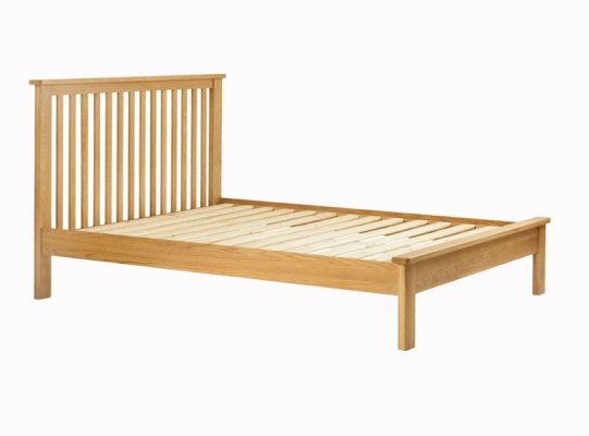 Suffolk Oak 4ft6in Bedstead