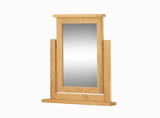 Suffolk Oak Dressing Table Mirror