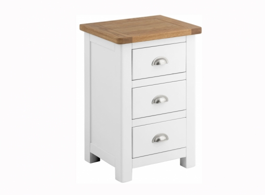 Suffolk White Bedside Cabinet