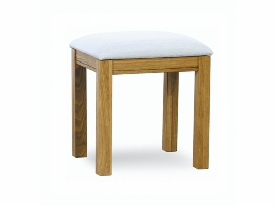 Oxford Oak Dressing Table Stool