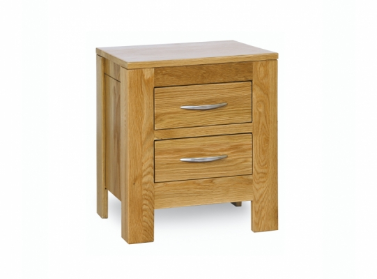 Oxford Oak 2 Drawer Chest