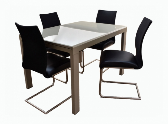 Phoenix Ext. Dining Table & 4 Chairs Package
