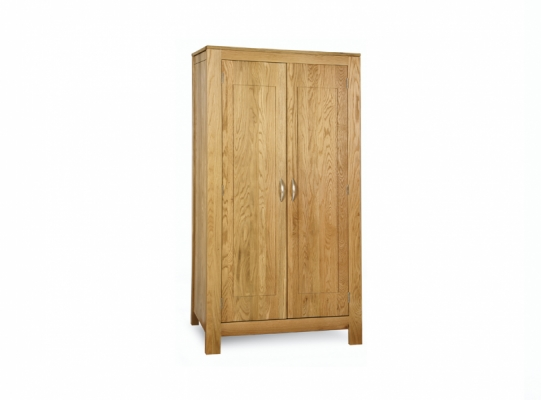 Oxford Oak Full Hanging Wardrobe