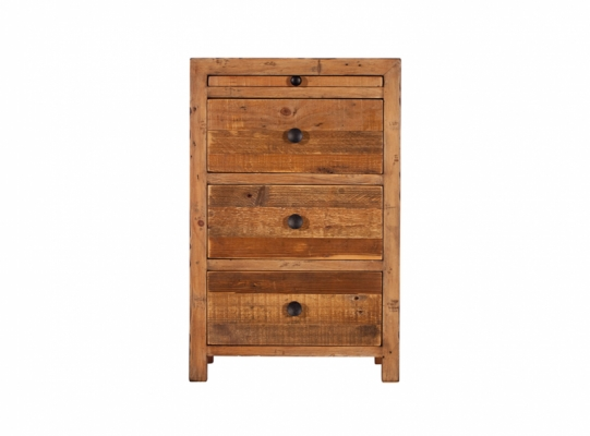 Coast 3 Drawer Bedside