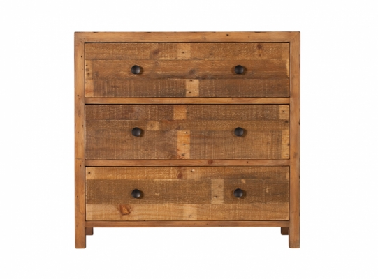 Coast 3 Drawer Wide Chest