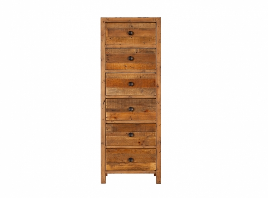 Coast 6 Drawer Tall Chest