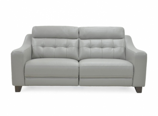 Oslo Static 3 Seater Leather Sofa