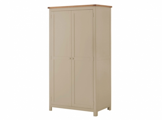 Suffolk Pebble 2Dr Wardrobe