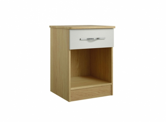 Oskar 1 Drawer Bedside