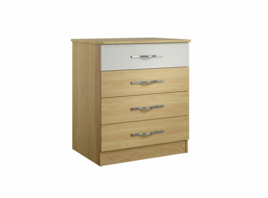Oskar 4 Drawer Wide Chest