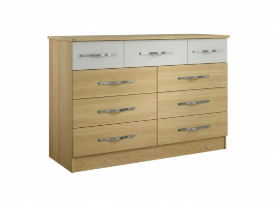 Oskar 9 Drawer Chest