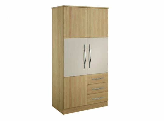Oskar 36inch Combination Wardrobe