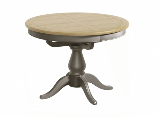 Hornchurch Single Pedestal Round Ext. Dining Table