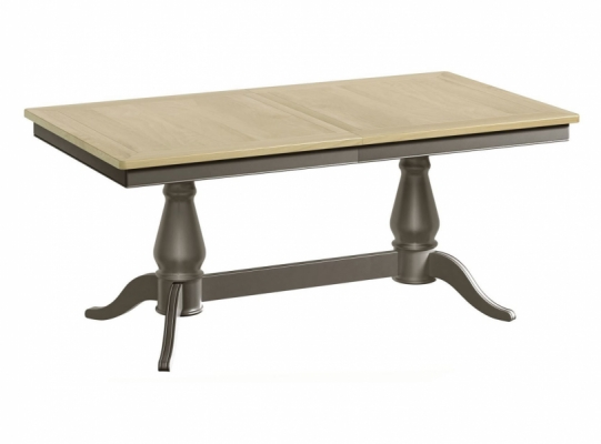 Hornchurch Twin Pedestal Ext. Dining Table