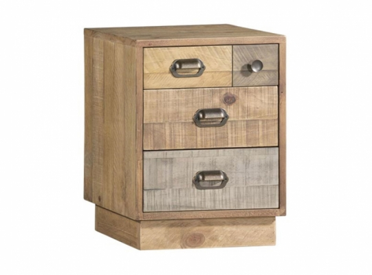 Lakeside Bedside Cabinet with Plinth