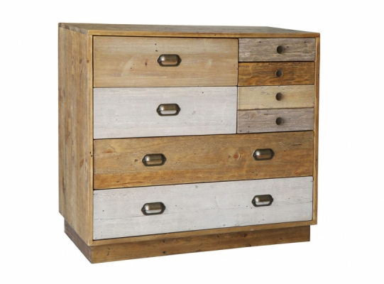 Lakeside 7 Drawer Chest with Plinth