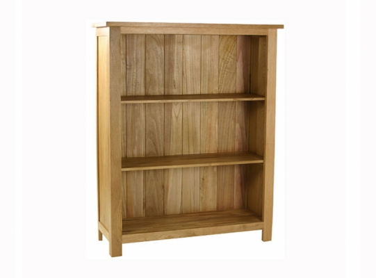 Orlando Oak Low Bookcase