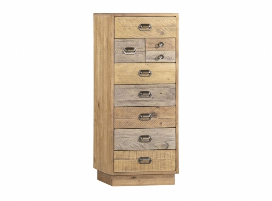 Lakeside Tall Wellington Chest with Plinth