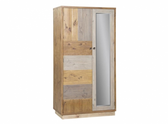 Lakeside Double Wardrobe with Plinth
