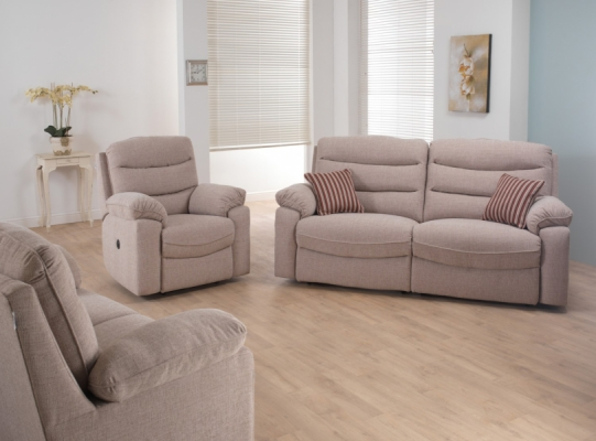 Anna Static 3 Seater Sofa