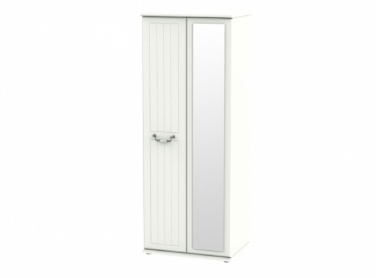Conway Tall 2ft6in Mirror Wardrobe