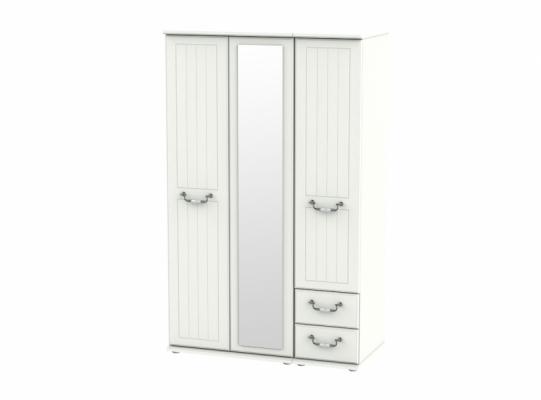Conway Triple Mirror + Drawer Wardrobe