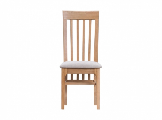 Newbury Slat Back Fabric Dining Chair