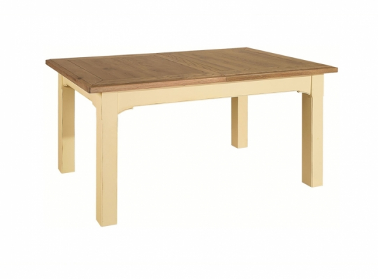 Bloomsbury Cream Extending Dining Table