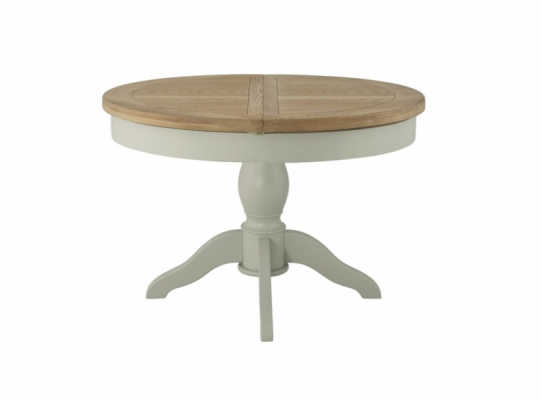 Suffolk Stone Round Ext Dining Table